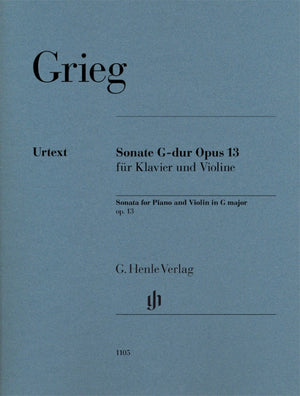 Grieg: Violin Sonata No. 2 in G Major, Op. 13