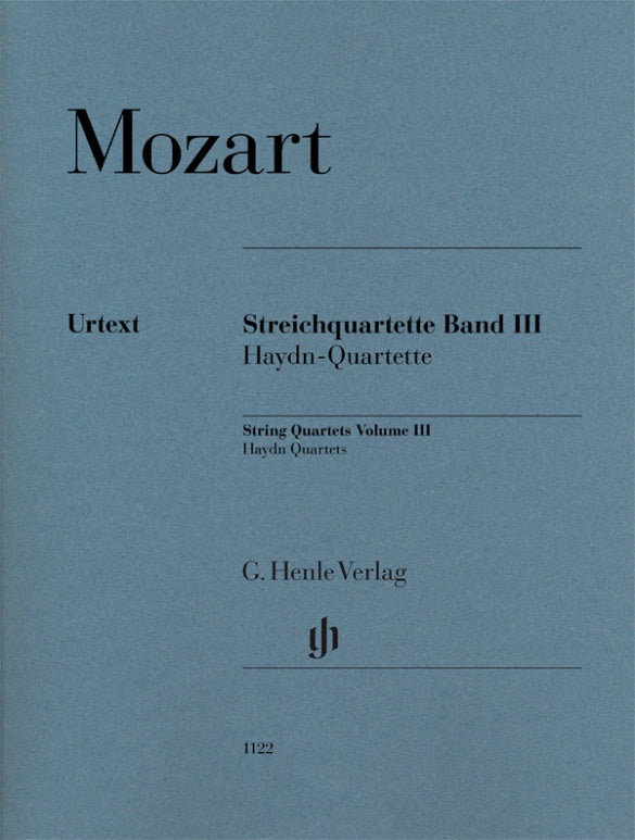 Mozart: String Quartets - Volume 3 (Haydn Quartets)