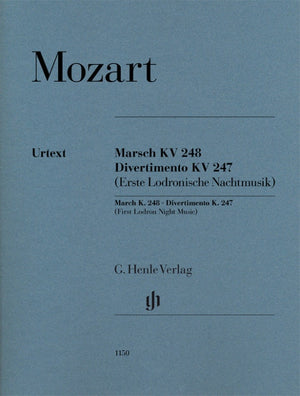 Mozart: March, K. 248 and Divertimento, K. 247 (First Lodron Night Music)