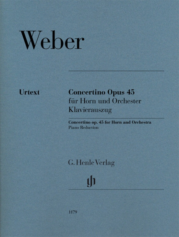 Weber: Concertino for Horn and Orchestra, Op. 45