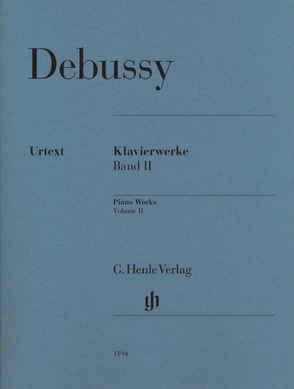 Debussy: Piano Works - Volume 2