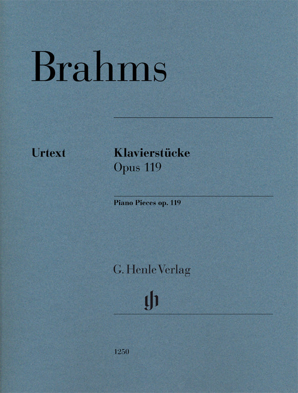 Brahms: Piano Pieces, Op. 119