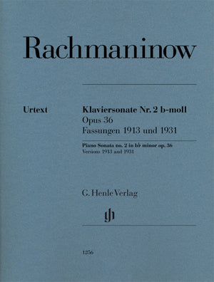 Rachmaninoff: Piano Sonata No. 2, Op. 36 (Versions 1913 and 1931)