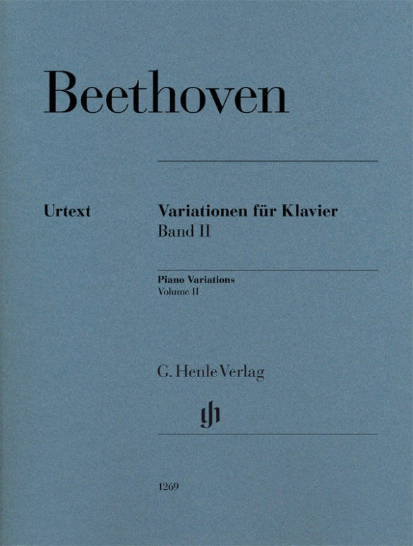 Beethoven: Piano Variations - Volume 2