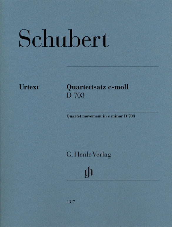 Schubert: String Quartet in C Minor, D 703