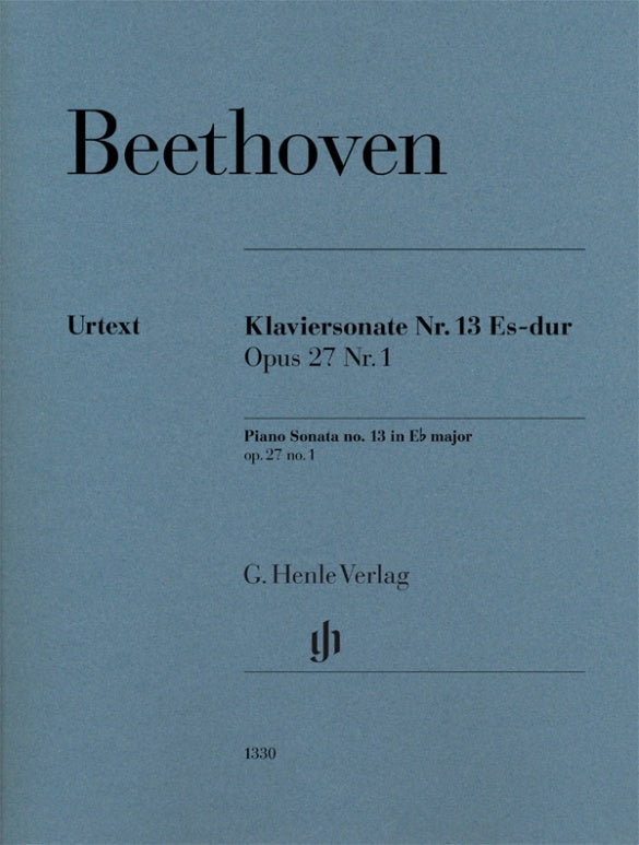Beethoven: Piano Sonata No. 13 in E-flat Major, Op. 27, No. 1