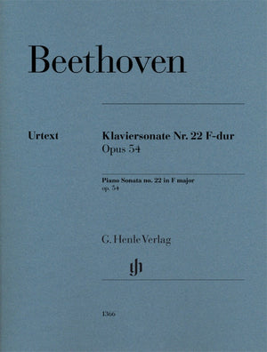 Beethoven: Piano Sonata No. 22 in F Major Op. 54