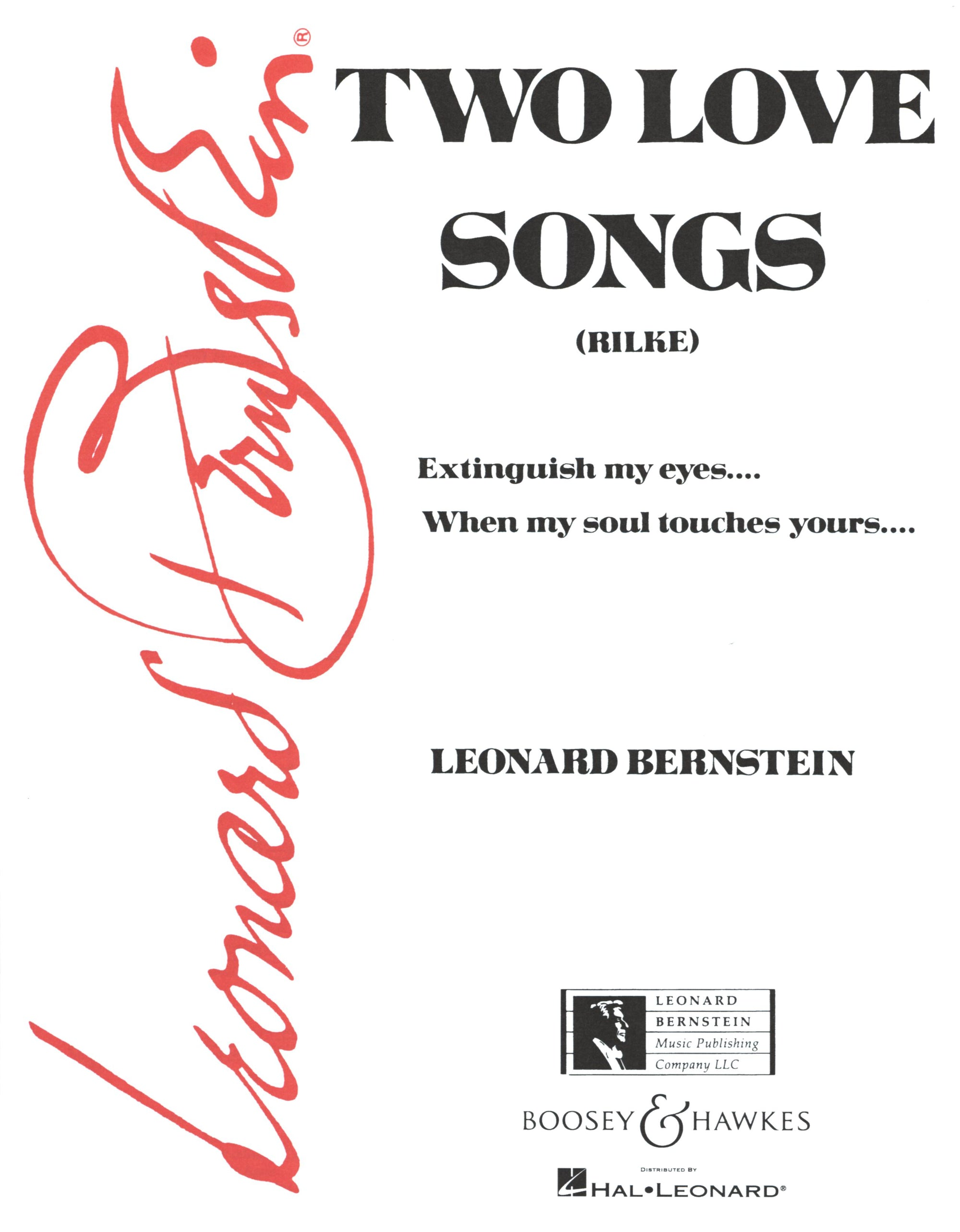 Bernstein: Two Love Songs