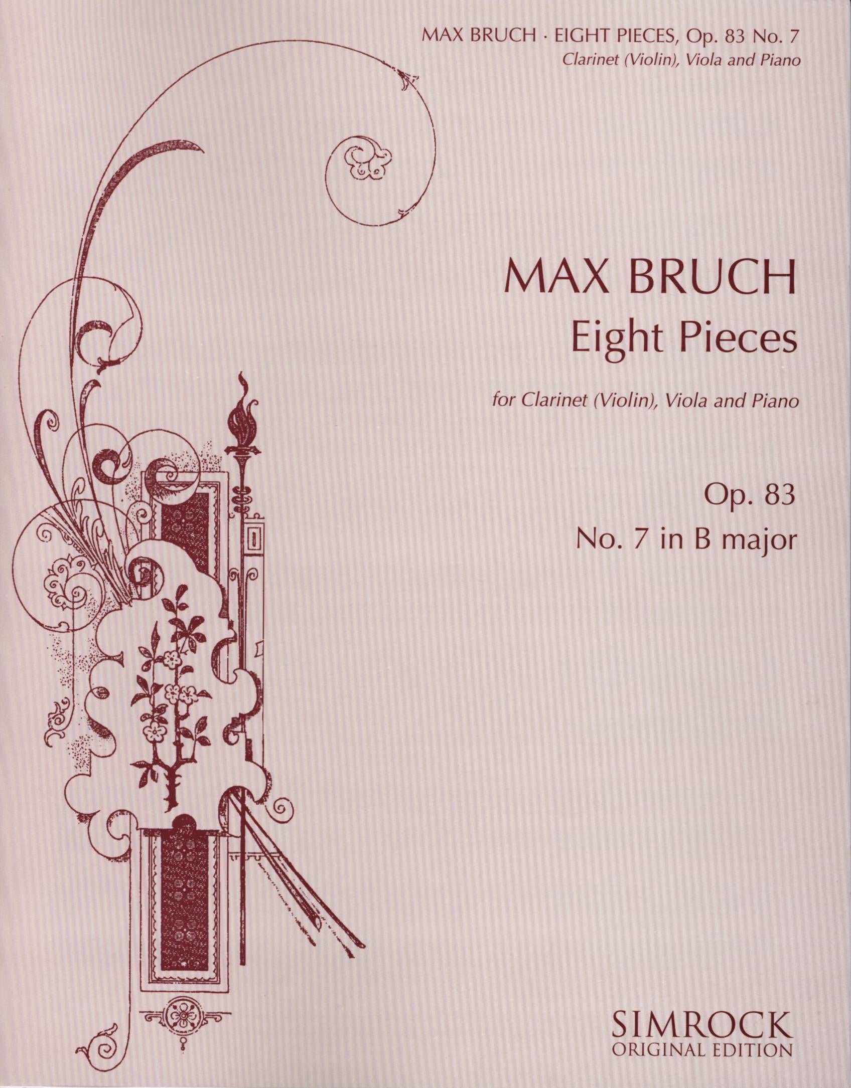 Bruch: Eight Pieces, Op. 83, No. 7
