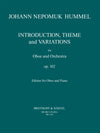 Hummel: Introduction, Theme and Variations, Op. 102