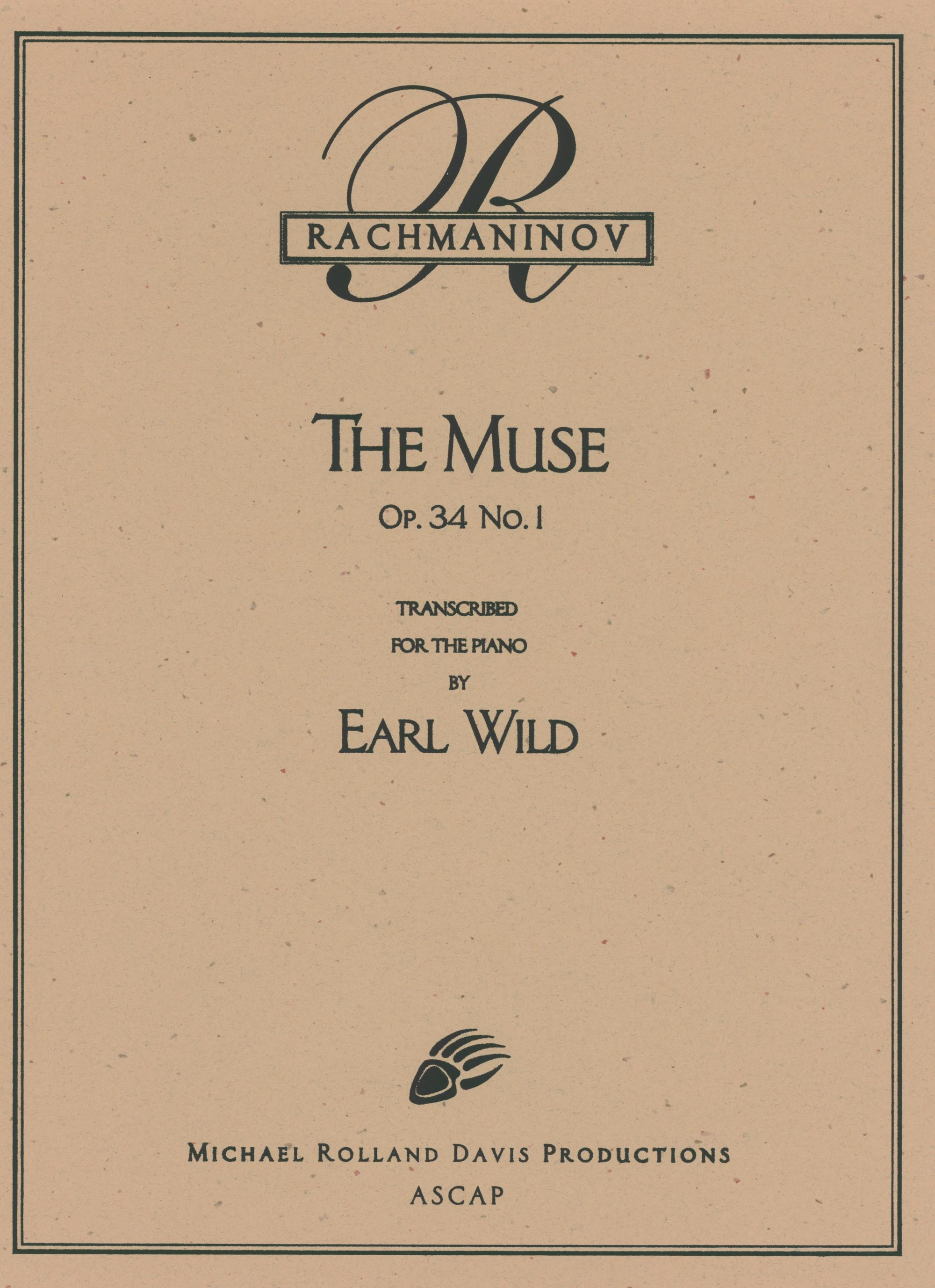 Rachmaninoff-Wild: The Muse, Op. 34, No. 1