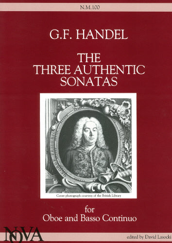 Handel: The Three Authentic Oboe Sonatas
