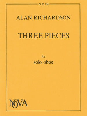 Richardson: 3 Pieces for Solo Oboe