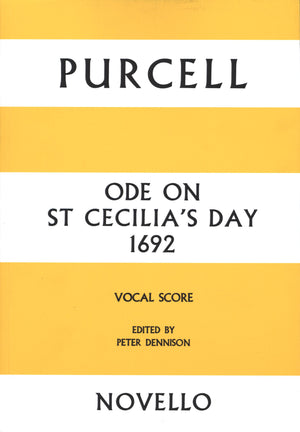 Purcell: Ode on St Cecilia's Day