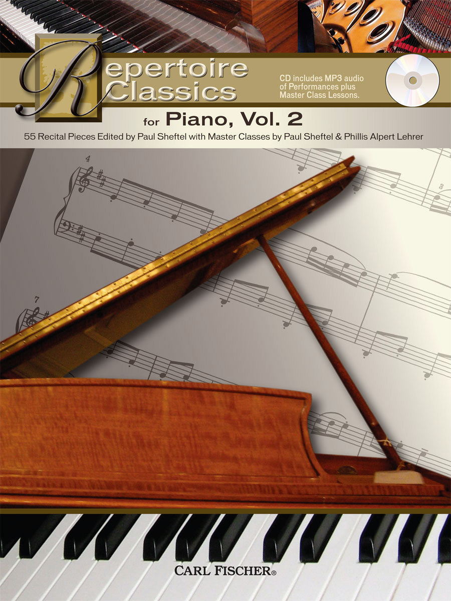 Repertoire Classics for Piano - Volume 2