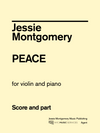 Montgomery: Peace for Violin and Piano