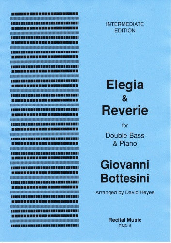 Bottesini: Elegia & Reverie (transposed)