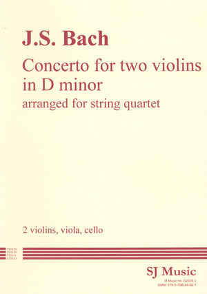 Bach: Concerto for 2 Violins in D Minor (arr. for string quartet)