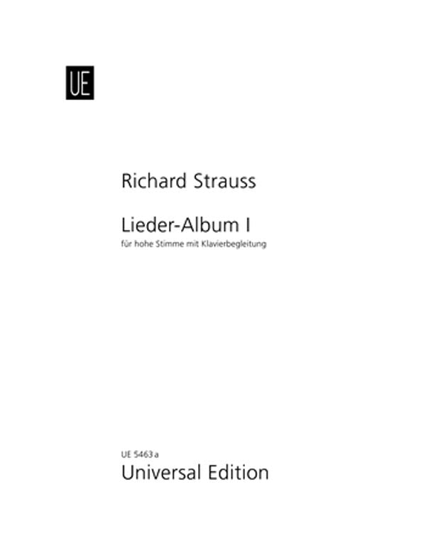 Strauss: Song Album - Volume 1