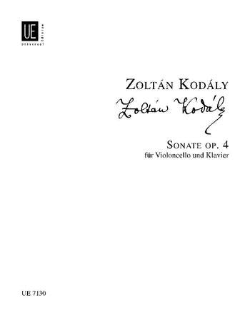 Kodály: Cello Sonata, Op. 4
