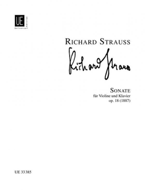 Strauss: Violin Sonata In E-flat Major, Op. 18
