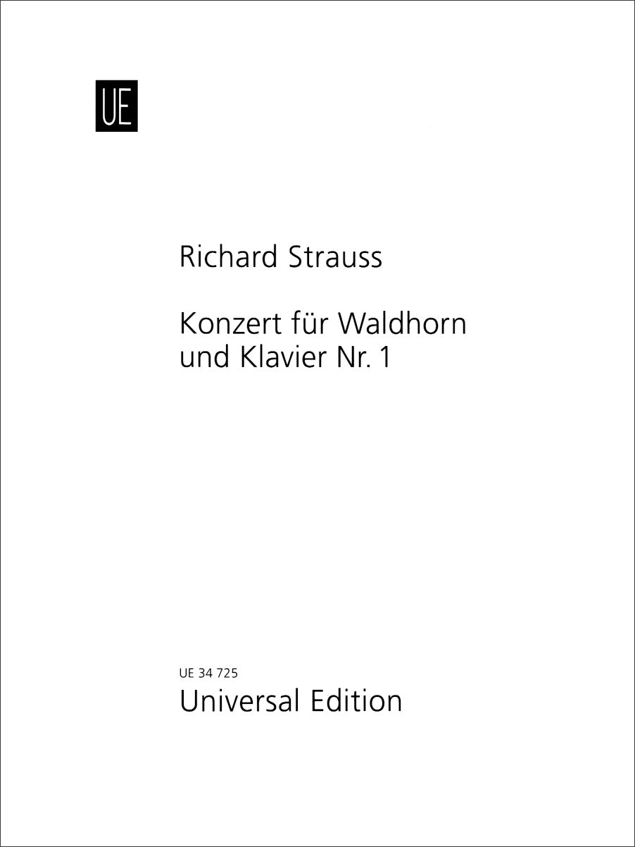 Strauss: Horn Concerto No. 1 in E-flat Major, Op. 11