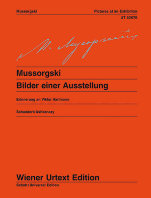 Mussorgsky: Pictures Of An Exhibition