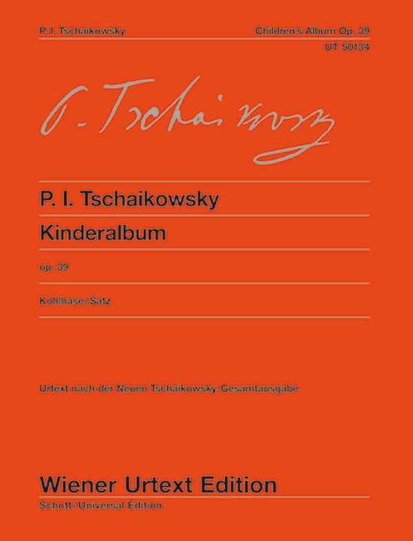 Tchaikovsky: Album for the Young, Op. 39