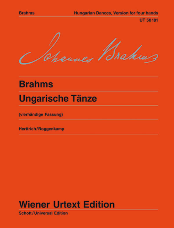 Brahms: Hungarian Dances, Nos. 1-21