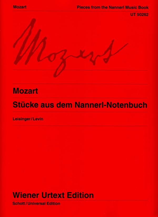 "Mozart: Pieces From ""The Nannerl Music Book"""