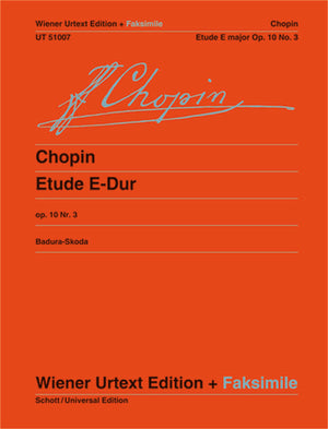 Chopin: Etude in E Major, Op. 10, No. 3
