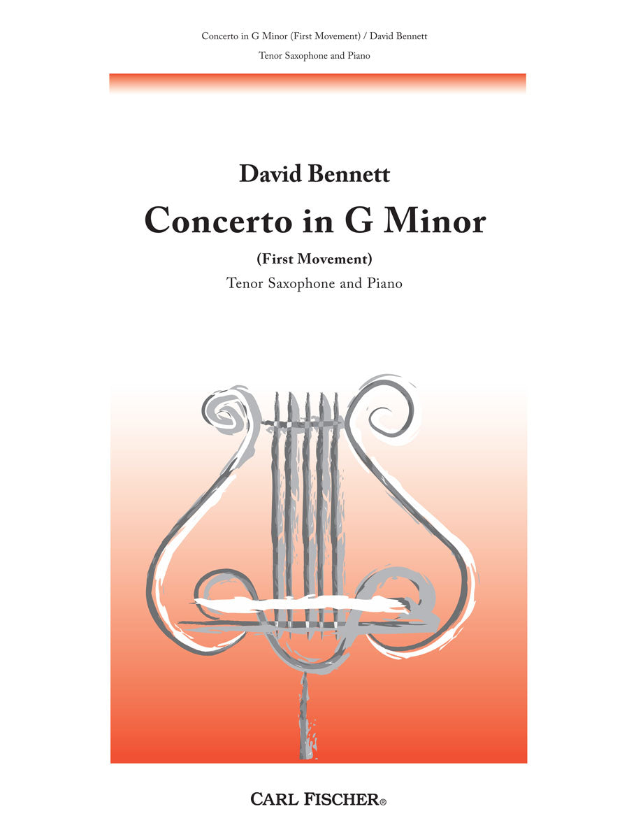 Bennett: Saxophone Concerto in G Minor