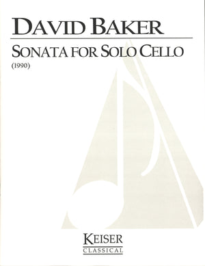 Baker: Sonata for Solo Cello