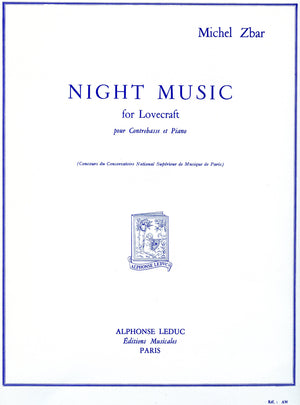 Zbar: Night Music for Lovecraft