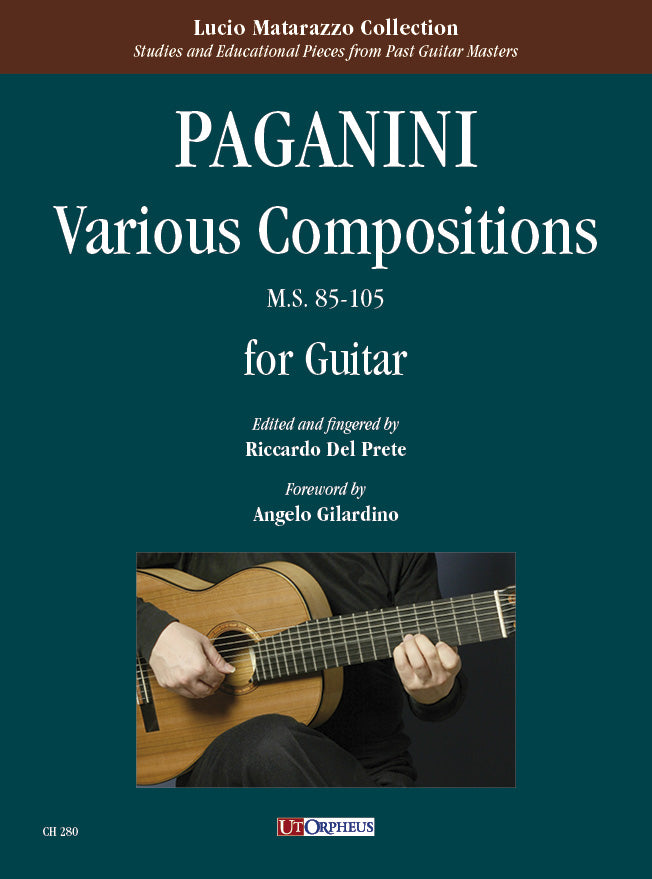 Paganini: Various Compositions, MS 85-105