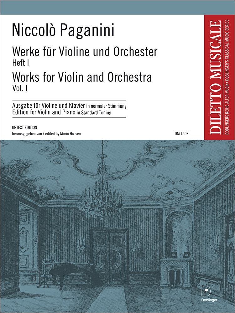 Paganini: Works for Violin and Orchestra - Volume 1