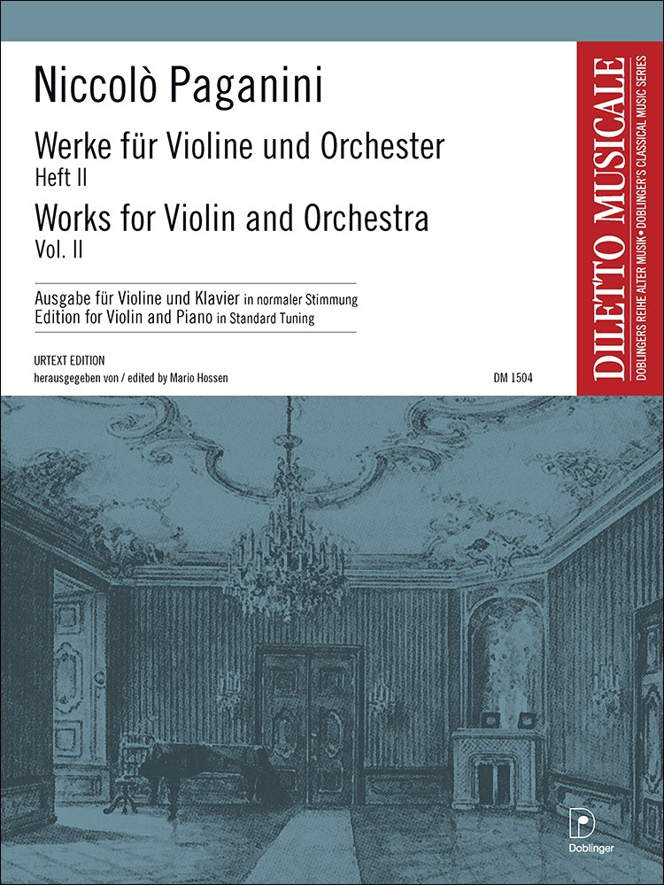 Paganini: Works for Violin and Orchestra - Volume 2