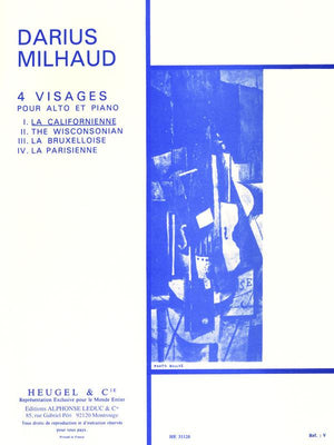 Milhaud: La Californienne, Op. 238, No. 1 (from 4 Visages)