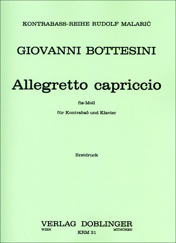Bottesini: Allegretto capriccio