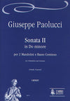 Paolucci: Sonata No. 2 in C Minor for 2 Mandolins and Continuo