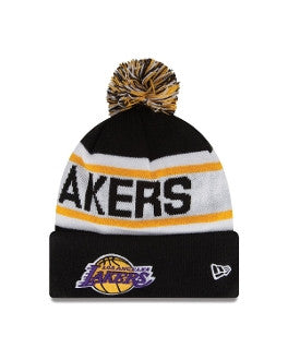 "Lakers ""Biggest Fan Knit"" Pom Beanie - Los Angeles Source  - 1"