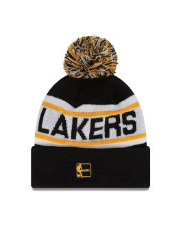 "Lakers ""Biggest Fan Knit"" Pom Beanie - Los Angeles Source  - 2"