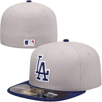 "Dodgers ""Diamond Era"" Fitted Hat - Grey - Los Angeles Source  - 1"