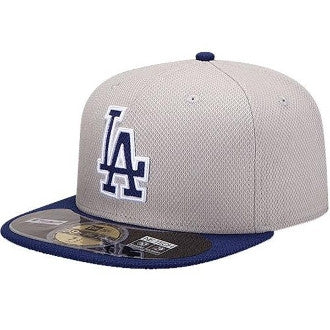 "Dodgers ""Diamond Era"" Fitted Hat - Grey - Los Angeles Source  - 2"