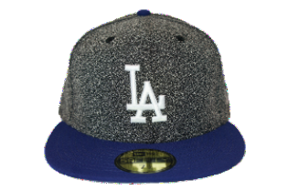 "Dodgers ""Dark Grey Spec"" Fitted Hat - Los Angeles Source  - 2"