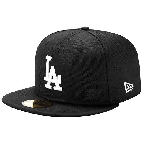 "Dodgers ""Classic Black"" Fitted Hat - Los Angeles Source  - 1"