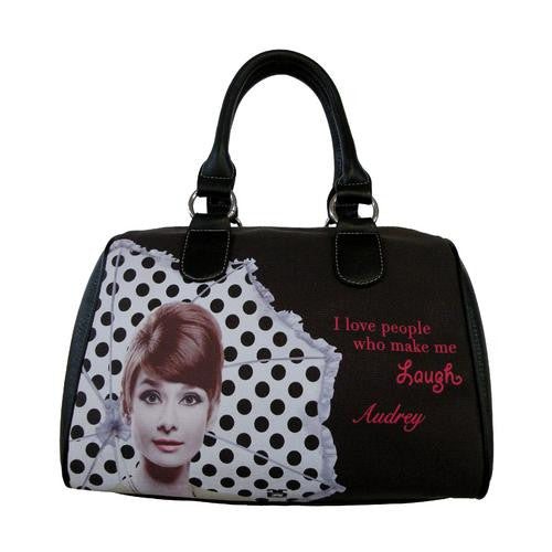Licensed Audrey Hepburn Lough  Satchel