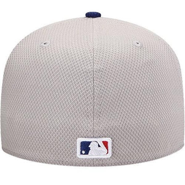 "Dodgers ""Diamond Era"" Fitted Hat - Grey - Los Angeles Source  - 4"