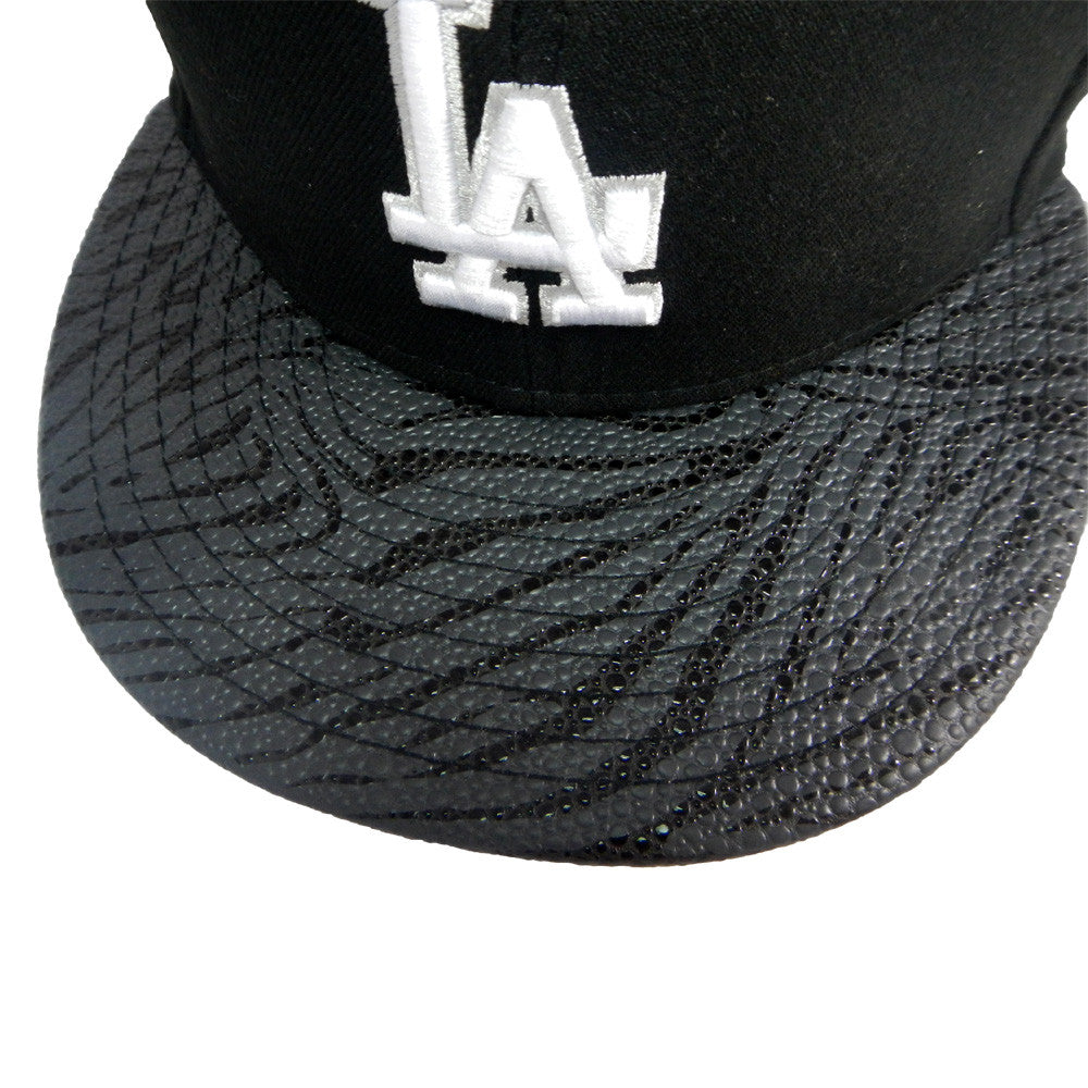 "Dodgers ""Sting Screen"" Fitted Hat - Los Angeles Source  - 4"