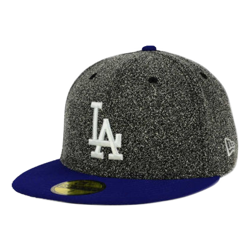 "Dodgers ""Dark Grey Spec"" Fitted Hat - Los Angeles Source  - 1"